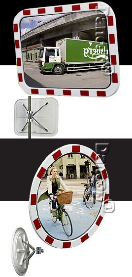Traffic mirrors INOX