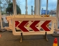 Arrow barrier White 2,0m RA1 incl. Foot
