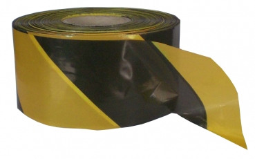Barrier tape 500 m, yellow / black