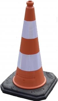 Traffic cone 1000 mm HD-PE Reflective
