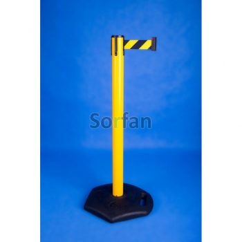 Retractable barrier - Industrial post 2,5 m