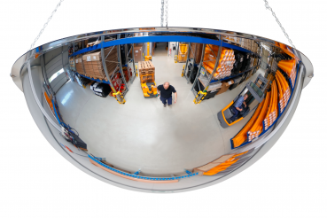 360° spherical mirror Ø 100 acrylic