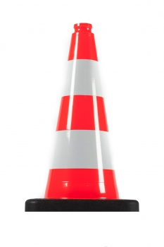 Traffic cone 500 mm PVC/REC Reflective