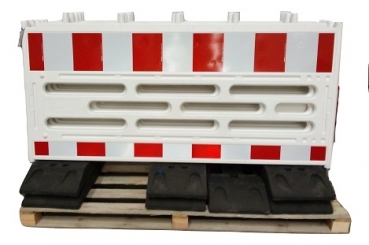 6 x plastic barrier fence - length 2060 - 7 feet included