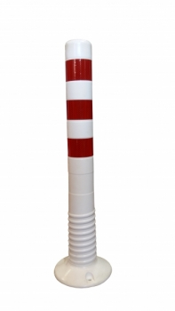 Flexible Delineator Post 750 mm, white