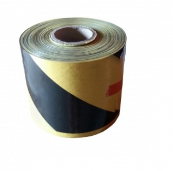 Barrier tape 200 m, yellow / black