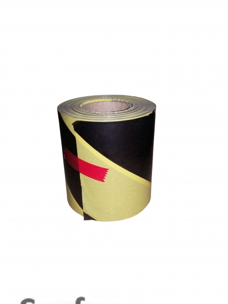 Barrier tape 100 m, yellow / black