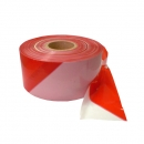 Barrier tape 500 m, white / red