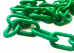 Plastic chain 8 mm  green