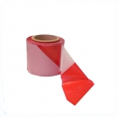 Barrier tape 100 m, white / red